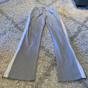J Crew gym gray sweat pants with pockets Small